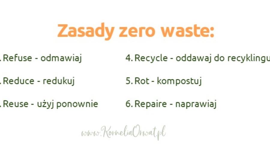 zasady zero waste wg Bei Johnson