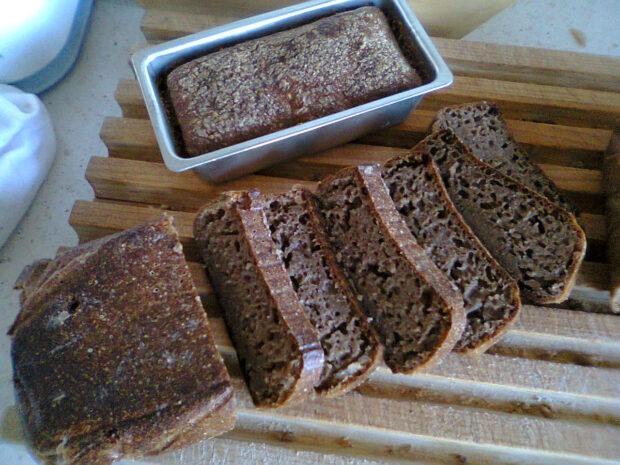 Jak upiec chleb pomomo braku miejsca w domu by Kornelia Orwat