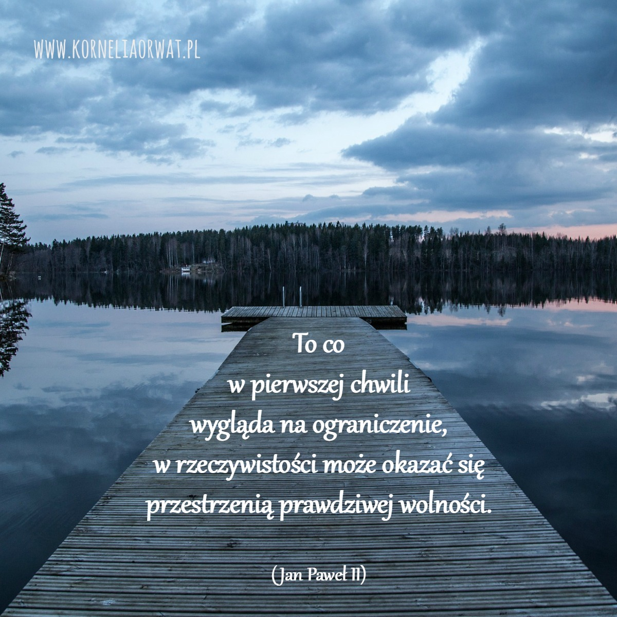 Jan Paweł Ii O Wolności Kornelia O