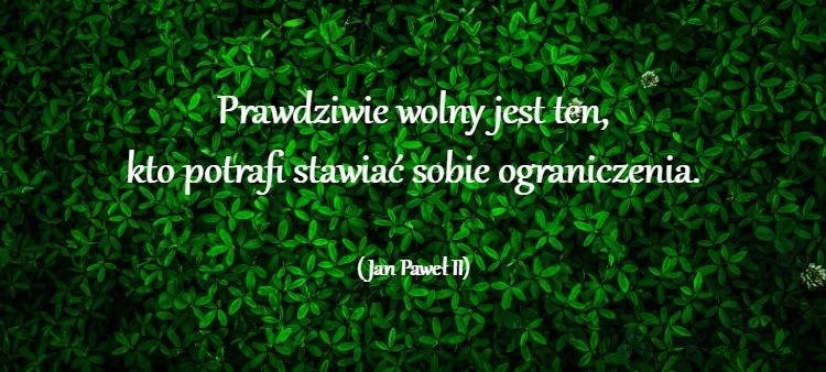 Jan Paweł II owolności