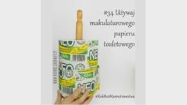 makulaturowy papier toaletowy