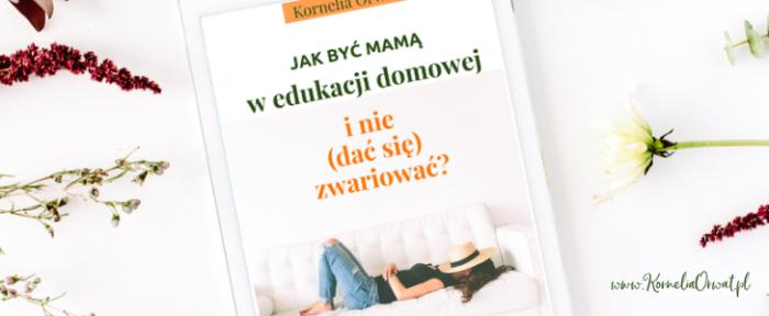 ebook jak być mamą w edukacji domowej