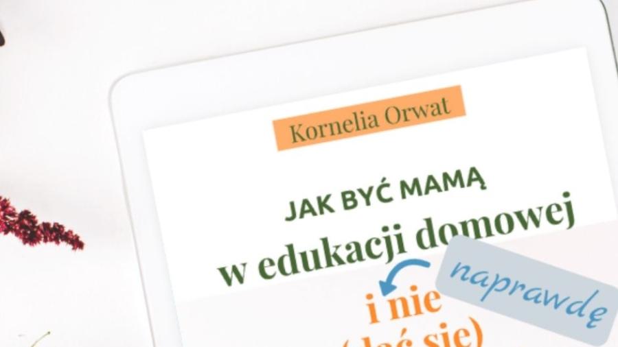 Jak nie zwariować w edukacji domowej by Kornelia Orwat