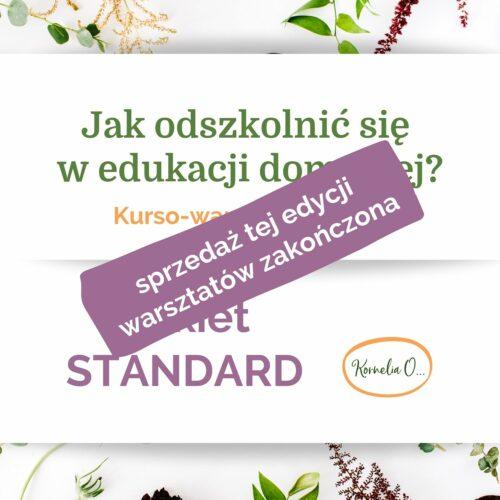 Jak odszkolnić się w edukacji domowej pakiet STANDARD