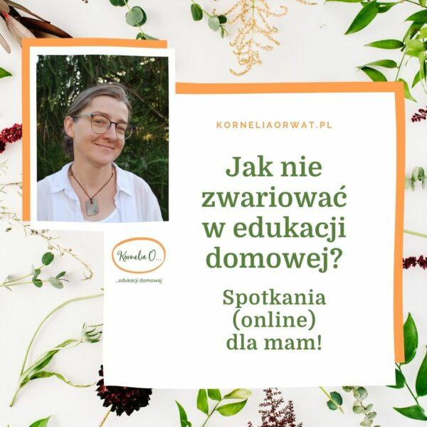 spotkania online dla mam w edukacji domowej